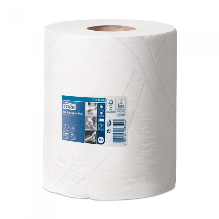 Протиральний папір Tork Plus М2 340*235мм (368шт/рул)