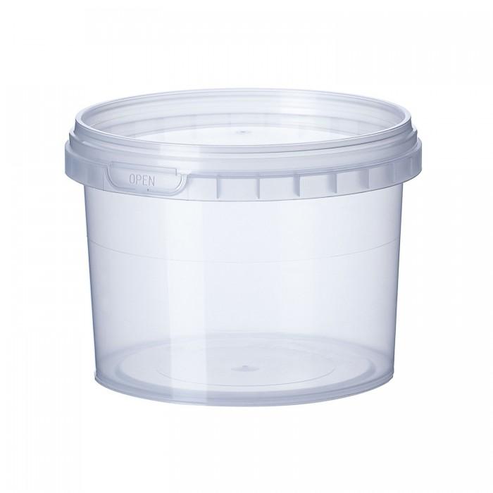 Ємність Vital-Plast пластикова біла з кришкою (350мл)