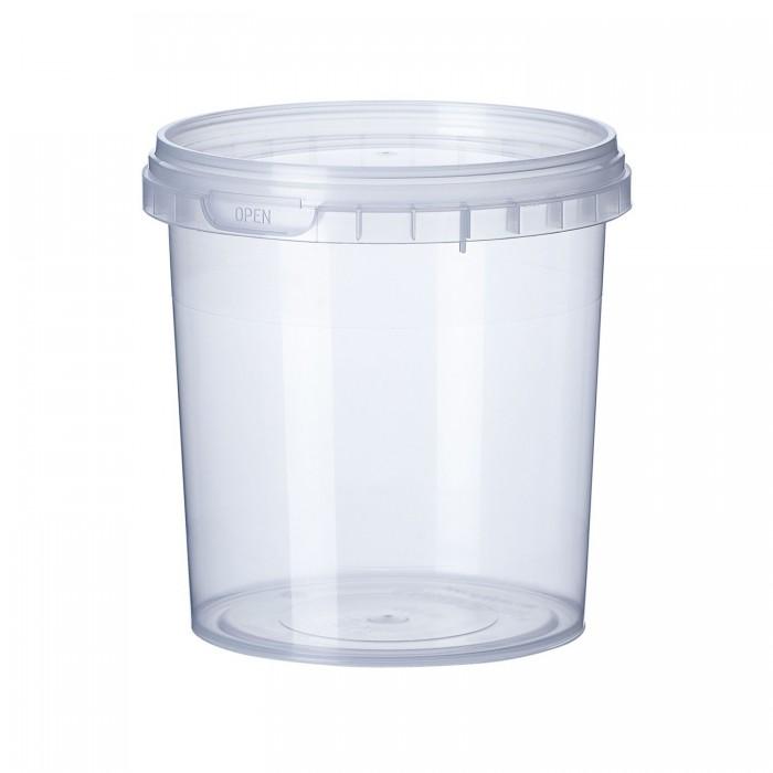 Ємність Vital-Plast пластикова біла з кришкою (500мл)
