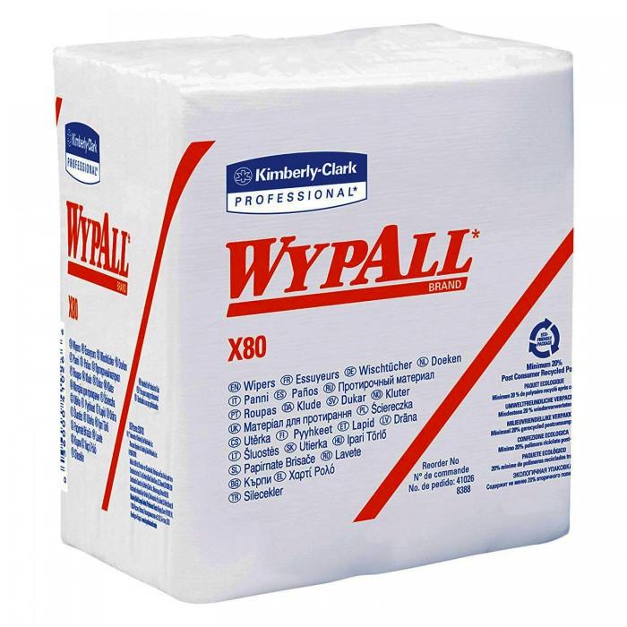 Протиральний матеріал Wypall X80 33*32см (50 листів)